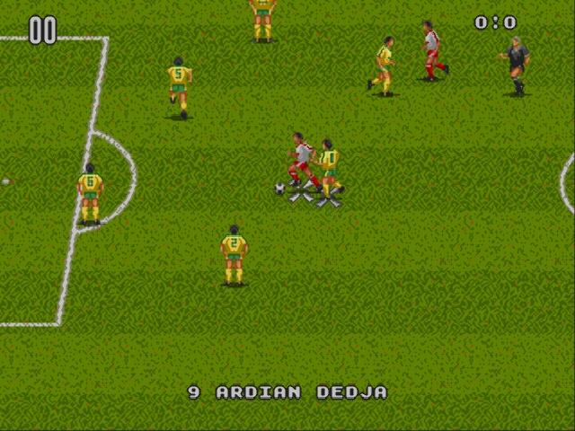 European Club Soccer [Europe] - Sega Genesis/MegaDrive