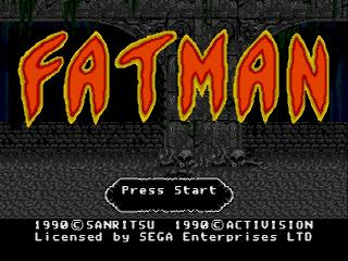 Screenshot Thumbnail / Media File 1 for Fatman (Japan)