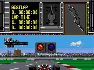 Screenshot Thumbnail / Media File 1 for Ferrari Grand Prix Challenge (USA)