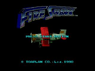 Screenshot Thumbnail / Media File 1 for Fire Shark (Europe)