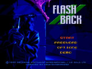 Screenshot Thumbnail / Media File 1 for Flashback - The Quest for Identity (USA) (Alt)