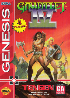 Screenshot Thumbnail / Media File 1 for Gauntlet IV (USA, Europe) (En,Ja) (August 1993)
