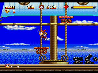 Screenshot Thumbnail / Media File 1 for High Seas Havoc (USA)