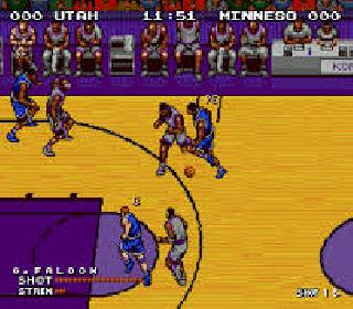 Screenshot Thumbnail / Media File 1 for Hyper Dunk - The Playoff Edition (Japan) (Beta)