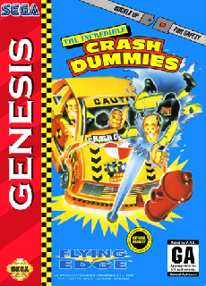 Screenshot Thumbnail / Media File 1 for Incredible Crash Dummies, The (USA) (Beta)