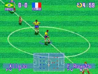 Screenshot Thumbnail / Media File 1 for International Superstar Soccer Deluxe (Europe)