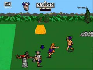 Screenshot Thumbnail / Media File 1 for Jerry Glanville's Pigskin Footbrawl (USA)