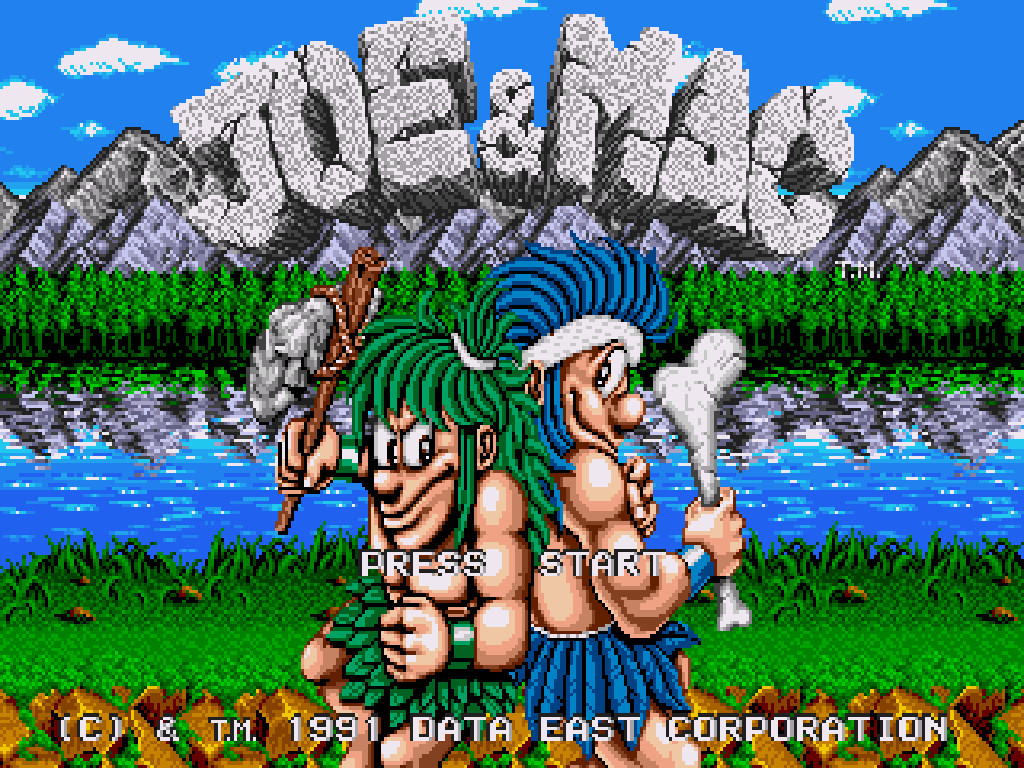 Joe & Mac (USA) ROM < Genesis ROMs | Emuparadise