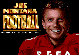 Screenshot Thumbnail / Media File 1 for Joe Montana Football (World)