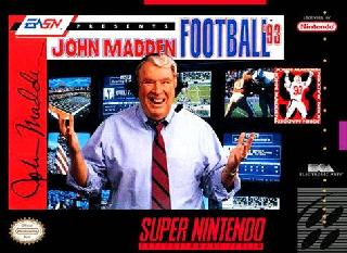 Screenshot Thumbnail / Media File 1 for John Madden Football '93 (USA, Europe)