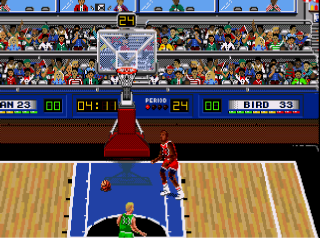 Screenshot Thumbnail / Media File 1 for Jordan Vs Bird (USA, Europe) (v1.1)