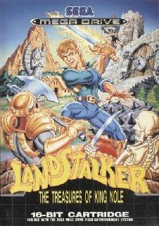 Screenshot Thumbnail / Media File 1 for Landstalker - The Treasures of King Nole (Europe)
