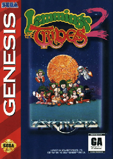 Screenshot Thumbnail / Media File 1 for Lemmings 2 - The Tribes (Europe)