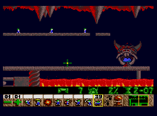 Screenshot Thumbnail / Media File 1 for Lemmings (Europe)