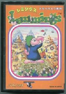 Screenshot Thumbnail / Media File 1 for Lemmings (Japan)