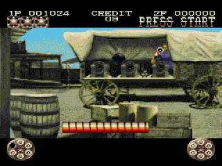 Screenshot Thumbnail / Media File 1 for Lethal Enforcers (Europe)