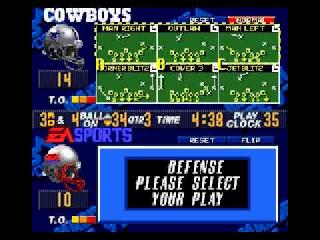 Screenshot Thumbnail / Media File 1 for Madden NFL 98 (USA)