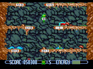 Screenshot Thumbnail / Media File 1 for Math Blaster - Episode 1 (USA)