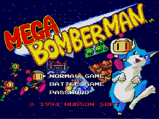 Screenshot Thumbnail / Media File 1 for Mega Bomberman (USA)