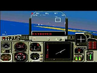 Screenshot Thumbnail / Media File 1 for Mig-29 Fighter Pilot (Japan)