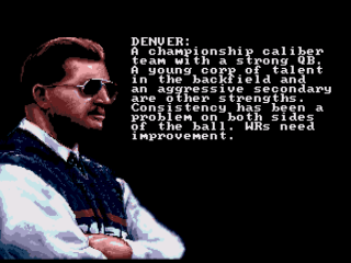 Screenshot Thumbnail / Media File 1 for Mike Ditka Power Football (USA)