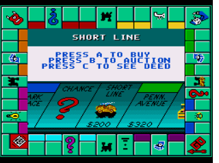 Screenshot Thumbnail / Media File 1 for Monopoly (USA)