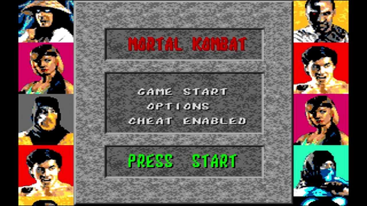 Mortal Kombat 1 Sega скачать