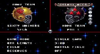 Screenshot Thumbnail / Media File 1 for Mutant League Football (Japan)