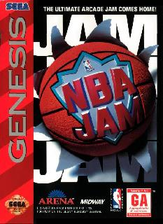 Screenshot Thumbnail / Media File 1 for NBA Jam (Japan)