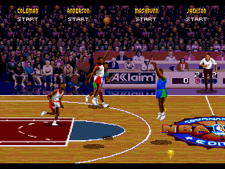 Screenshot Thumbnail / Media File 1 for NBA Jam Tournament Edition (World)