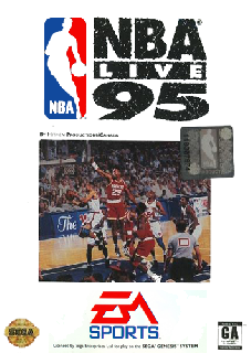 Screenshot Thumbnail / Media File 1 for NBA Live 95 (USA, Europe)