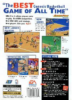 Screenshot Thumbnail / Media File 1 for NBA Live 97 (USA, Europe)