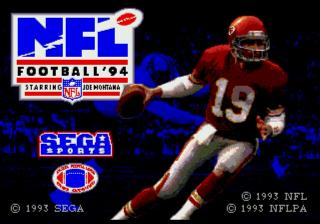 Screenshot Thumbnail / Media File 1 for NFL Football '94 (Japan)