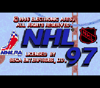 Screenshot Thumbnail / Media File 1 for NHL 97 (USA, Europe)