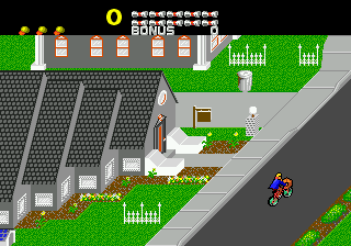 Screenshot Thumbnail / Media File 1 for Paperboy (Japan)