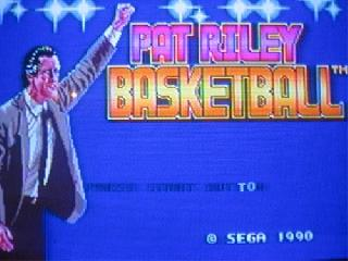 Screenshot Thumbnail / Media File 1 for Pat Riley Basketball (USA)