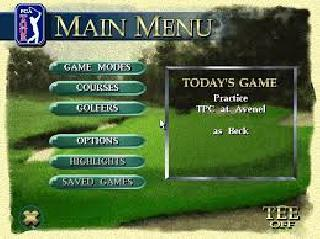 Screenshot Thumbnail / Media File 1 for PGA Tour 96 (USA, Europe)