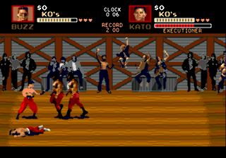 Screenshot Thumbnail / Media File 1 for Pit-Fighter (World) (July 1991)