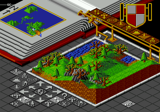Screenshot Thumbnail / Media File 1 for Populous (Europe)