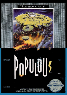 Screenshot Thumbnail / Media File 1 for Populous (Japan)