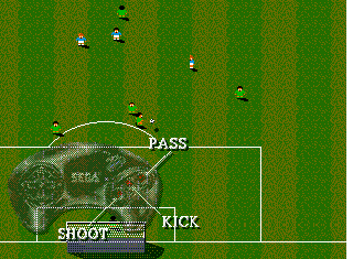 Screenshot Thumbnail / Media File 1 for Sensible Soccer (Europe) (En,Fr,De,It)