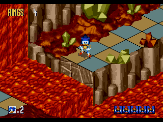 Screenshot Thumbnail / Media File 1 for Sonic 3D Blast (USA) (Beta)
