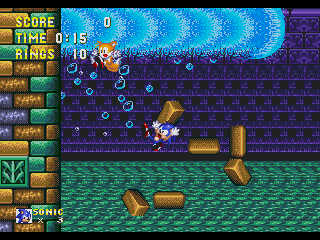 Screenshot Thumbnail / Media File 1 for Sonic the Hedgehog 3 (Europe)
