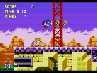 Screenshot Thumbnail / Media File 1 for Sonic the Hedgehog 3 (Japan)