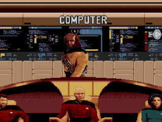 Screenshot Thumbnail / Media File 1 for Star Trek - The Next Generation - Echoes from the Past (USA) (v1.1)