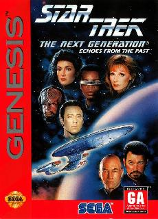 Screenshot Thumbnail / Media File 1 for Star Trek - The Next Generation - Echoes from the Past (USA)