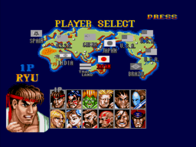 Street Fighter Ii Plus Japan Asia Rom Genesis Roms Emuparadise
