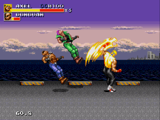 Screenshot Thumbnail / Media File 1 for Streets of Rage 3 (Asia)