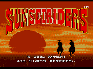 Screenshot Thumbnail / Media File 1 for Sunset Riders (USA)