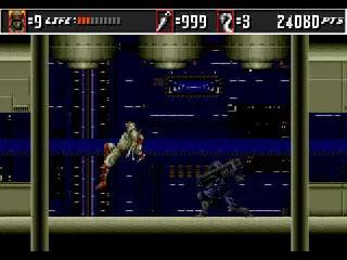 Screenshot Thumbnail / Media File 1 for Super Shinobi II, The (Japan) (Beta)